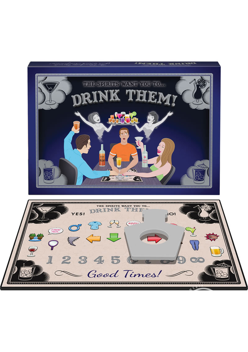 The Spirits Want You To Drink Them Drinking Board Game